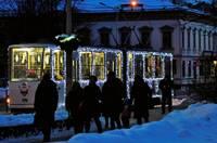 В Новый год транспорт будет бесплатным