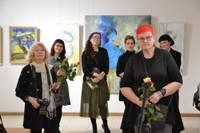 Открыли выставку «коллег по искусству»