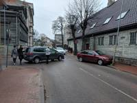 Очередное ДТП на перекрестке улицы Робежу