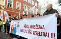 В акции протеста медиков участвовали 500 человек