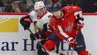 У Балцерса первое очко в сезоне в НХЛ и разгром от Вашингтона