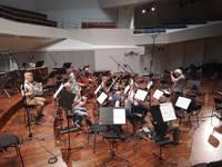 Лиепайский симфонический оркестр в разных составах записывает мировую классику