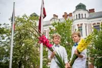 1 сентября в Лиепае торжественные линейки состоятся у 1, 9, 10 и 12-х классов, остальные соберутся в классах