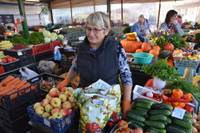Что в садах и огородах, то и на рынке