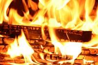 В Бартской волости горел жилой дом