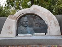 Приняли в эксплуатацию благоустроенное памятное место Эвалду Римбениексу