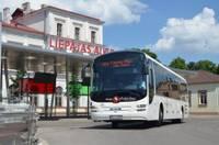 Один рейс по маршруту Лиепая-Рига дополнится новыми остановками