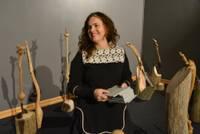 В Лиепайском музее открыта выставка деревянных скульптур  Яниса Жимантса