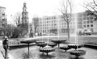 В сквере возле университета планируется фонтан