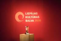 Вручили Приз культуры Лиепаи 2020 года