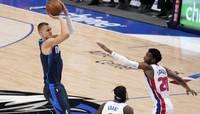 Порзиньгис набрал 19 очков в победном матче с Pistons