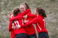 «Лиепайская футбольная школа» в высшую лигу вернулась с победой