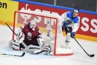 Сборная Латвии во втором матче ЧМ-2021 в серии буллитов проиграла Казахстану