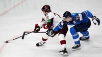Сборная Латвии на чемпионате мира по хоккею проиграла Финляндии