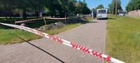 На улице Клайпедас обнаружили снаряд времен войны