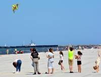 Сценки из рая для отдыхающих – с Лиепайского пляжа