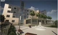 В центре города будут строить многоэтажное жилое здание