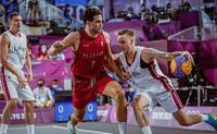 Латвия разгромила Бельгию и вышла в финал олимпийского баскетбольного турнира 3×3