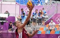 Латвийские баскетболисты одержали вторую победу на Олимпиаде над сборной Китая