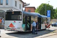 При падении травмы получила пассажирка городского автобуса