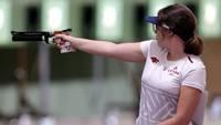 Рашмане заняла 37-е место на Олимпийских играх по стрельбе из малокалиберного пистолета с 25 метров