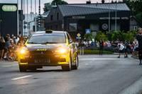 Квалификационный скоростной этап и парад участников открыли праздник ралли в Лиепае