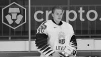 В возрасте 24 лет скончался хоккеист Матис Кивлениекс