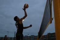 Проведен третий этап турнира по пляжному волейболу Smilšu bums Liepājā