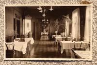 Лиепайский музей получил в дар старинную настольную салфетку либавской гостиницы Hotel de Rome