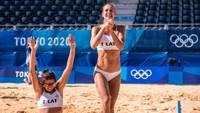 Граудиня/Кравченок вышли в четвертьфинал Олимпийских игр