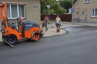 Движение на улице К. Улиха восстановлено, но все работы еще не завершены
