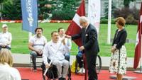 Апинис на Параолимпийских играх в Токио занял четвертое место в метании диска