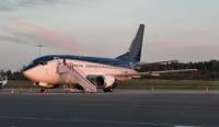 В Лиепайском аэропорту обслуживают чартерные рейсы; прилетели футболистки из Австрии