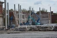 Новое встроили в старое. В Военном городке уже видны контуры нового производства EB Liepāja