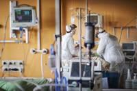 В Лиепайской больнице на лечении находятся десять пациентов с ковидом