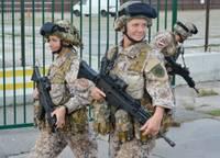В Лиепайском порту вновь хозяйничали военные. Продолжаются учения «Намейс – 2021»