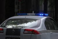 В Лиепае нетрезвый водитель после задержания пинал двери отсека в полицейской автомашине