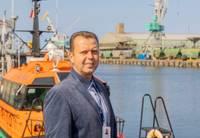 В Лиепайском порту смена капитанов. Работу начал новый капитан порта Ояр Зейзумс