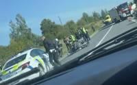 На Лиепайском шоссе погиб мотоциклист