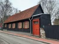 На ул.Бариню реконструировано деревянное здание XVII столетия